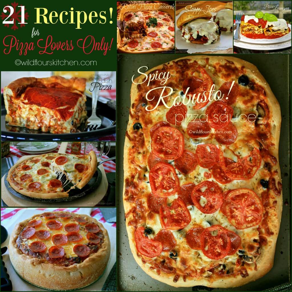 21 pizza recipes