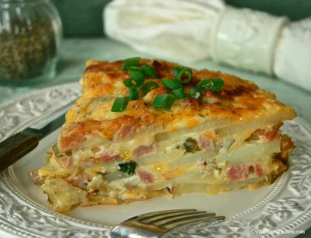 Ham & Potato Casserole with Canadian Bacon 2