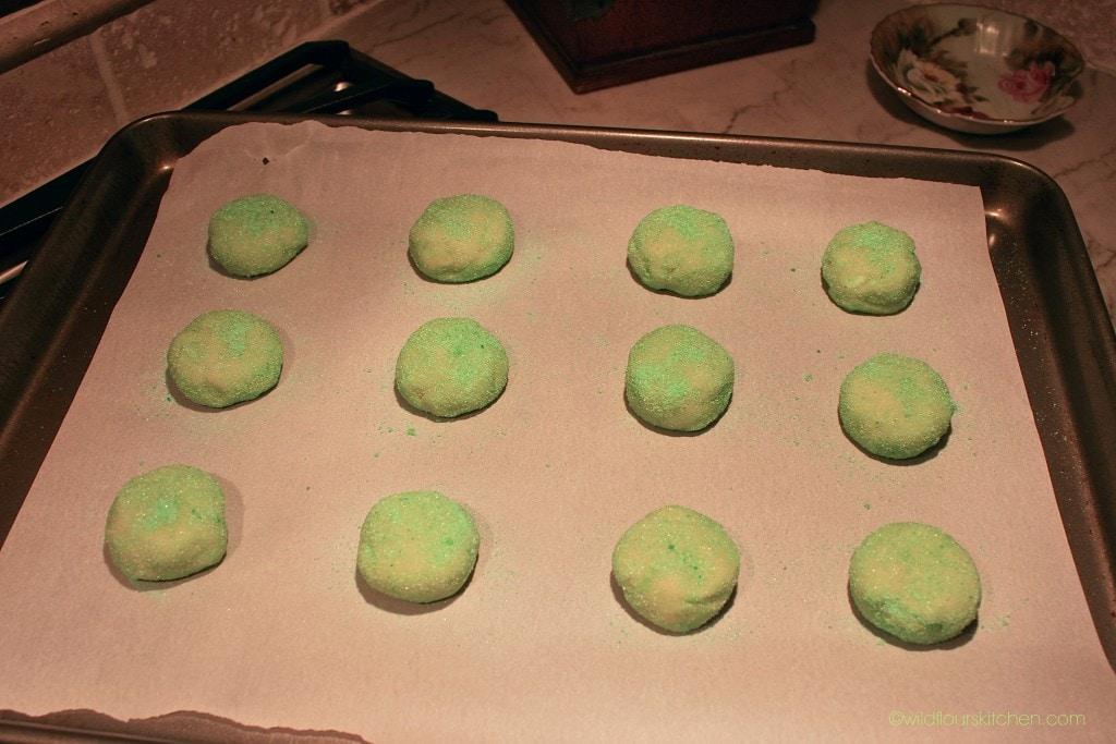 cream cheese cookies prebake