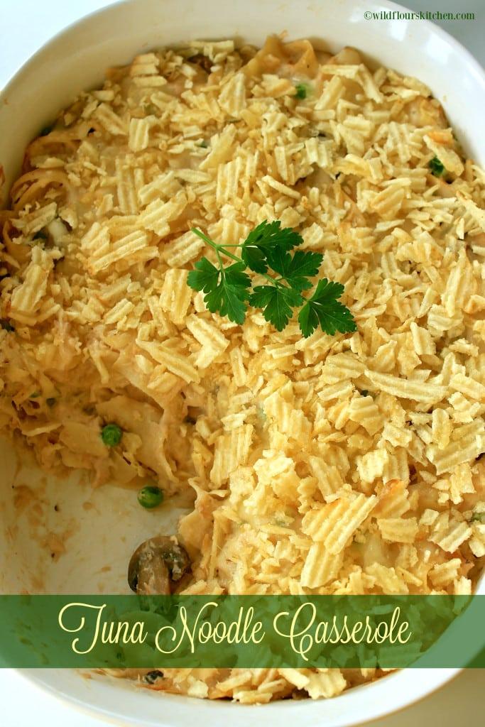 tuna noodle casserole portrait