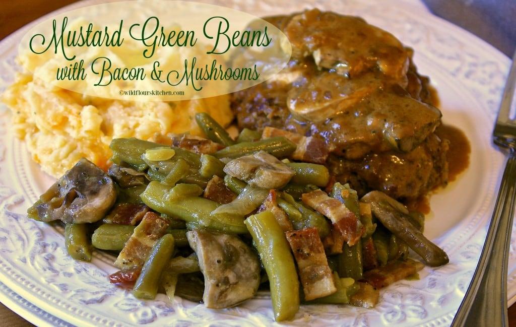 mustard green beans 3