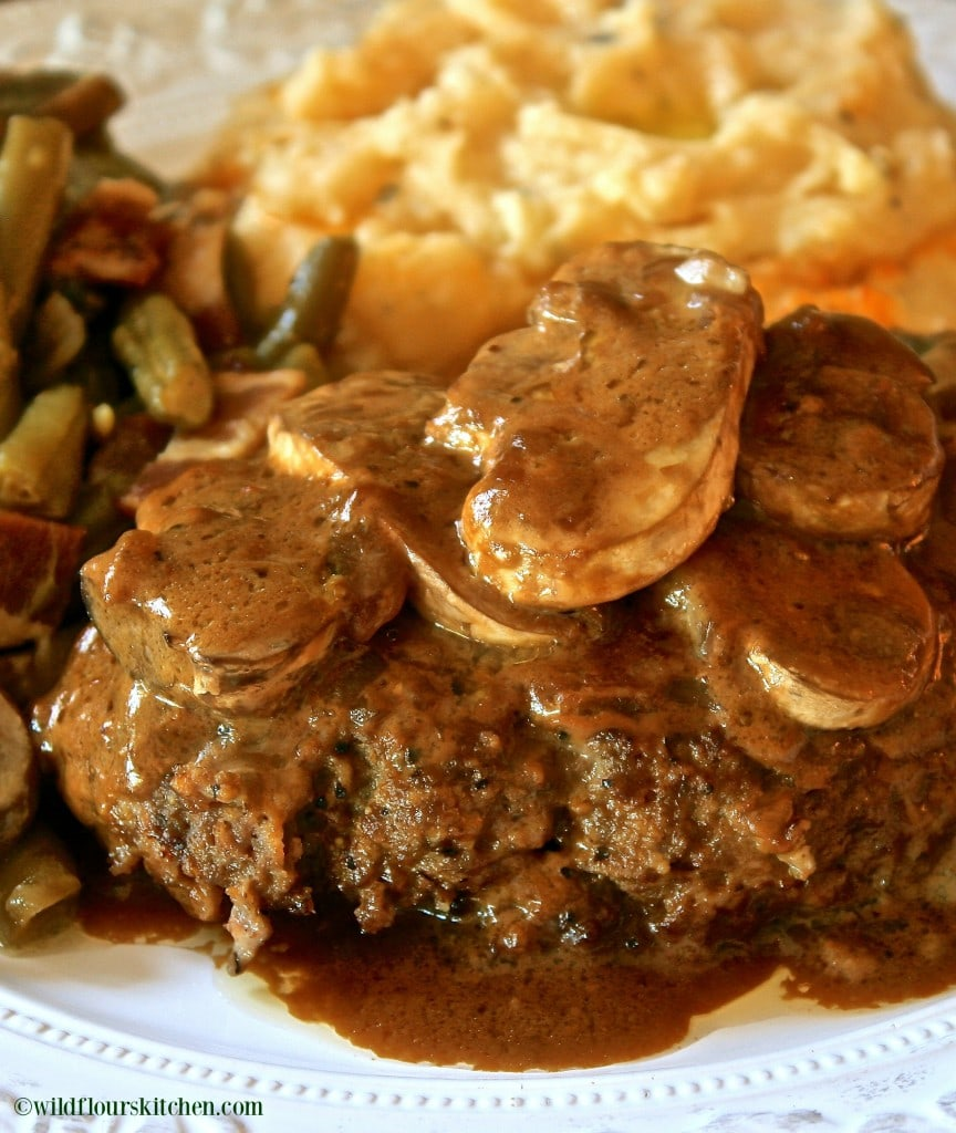 salisbury steak 4 pinterest