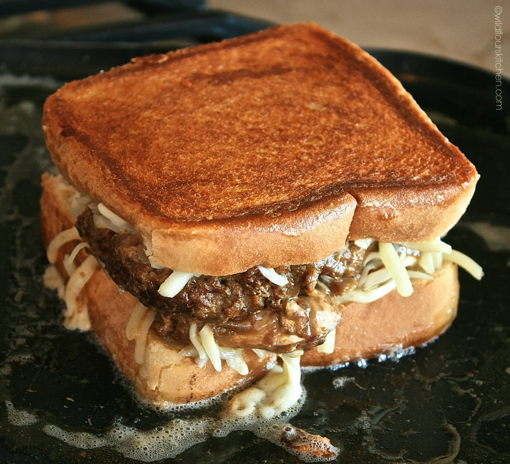 salisbury steak grilled cheese 4