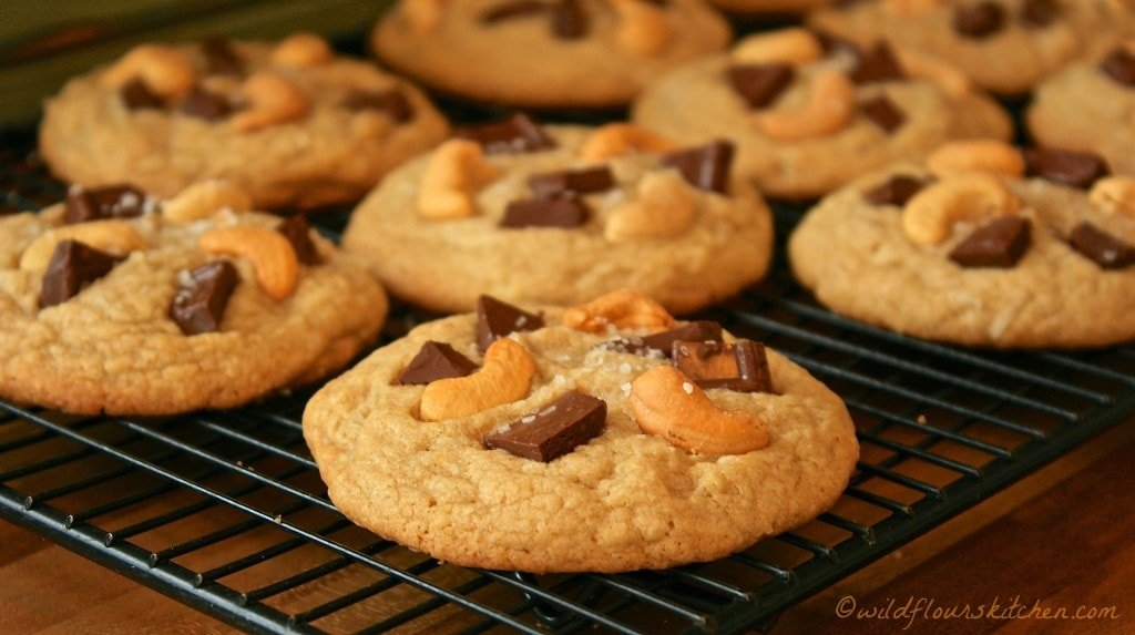 tropical paradise cookies close