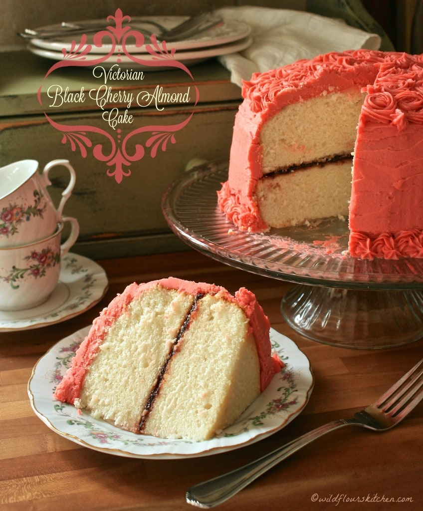black cherry almond cake 2