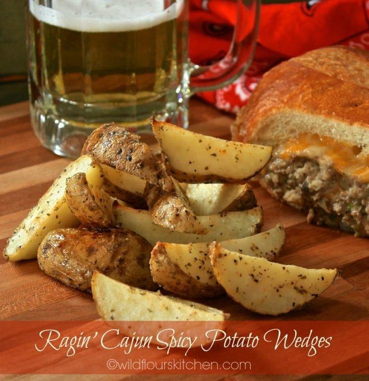 Ragin' Cajun Spicy Potato Wedges
