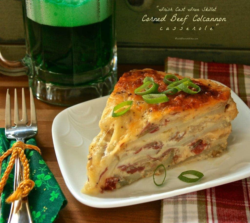 corned beef colcannon casserole