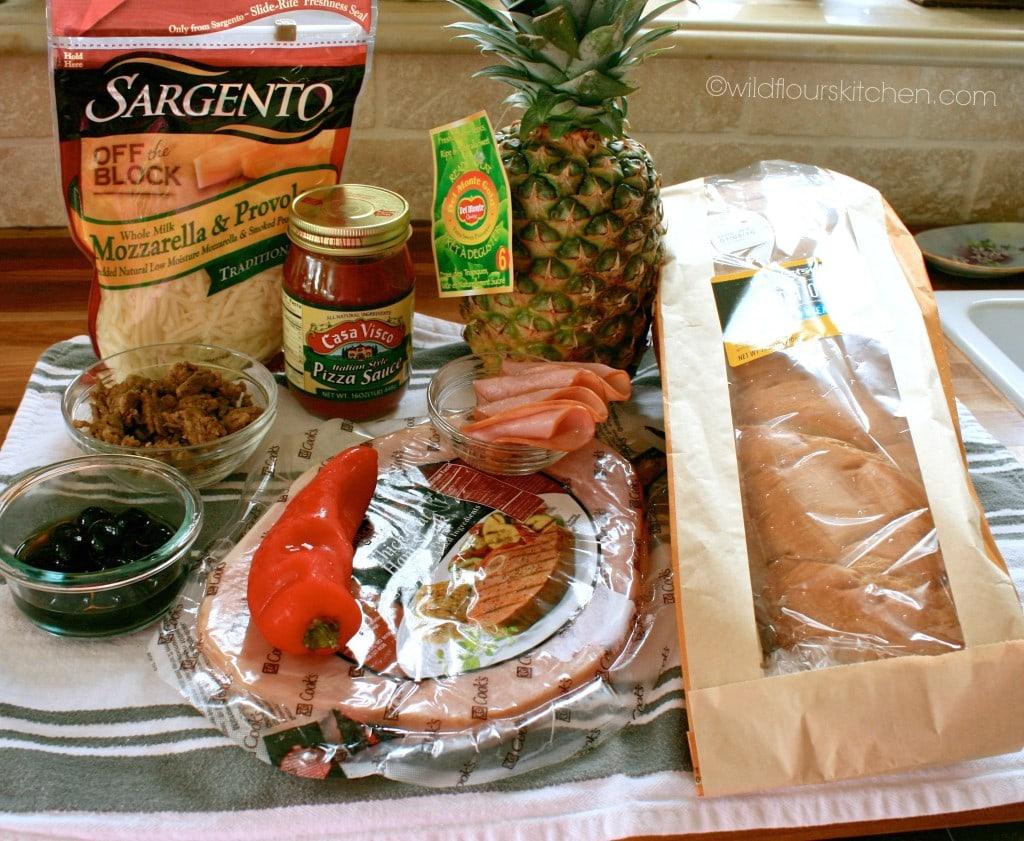 hawaiian pizza ingredients