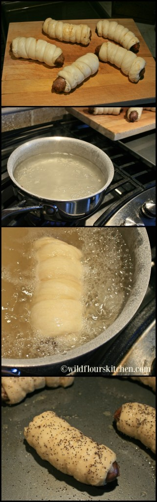 pretzel brats assmbly:boil