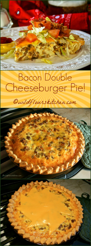 Bacon Double Cheeseburger Pie!