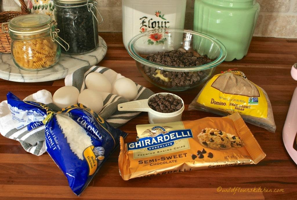 brownie ingrdnts