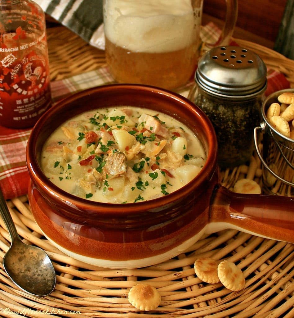 Authentic New England Clam Chowder!