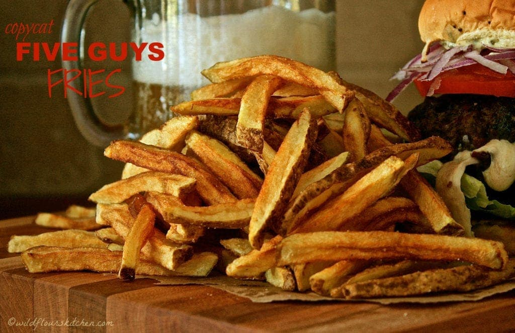 Copycat FIVE GUYS Fries!