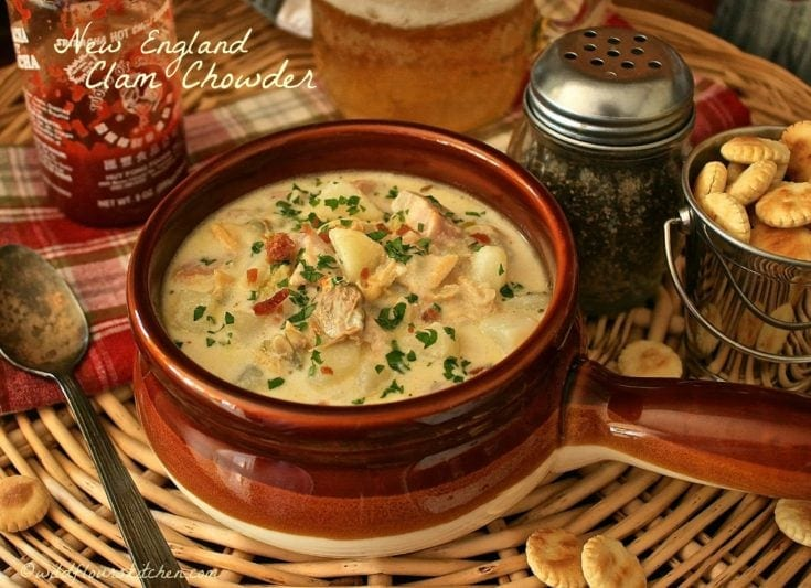 Authentic New England Clam Chowder
