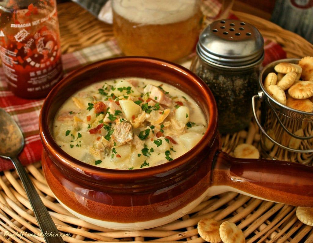 Traditional New England Clam Chowder!