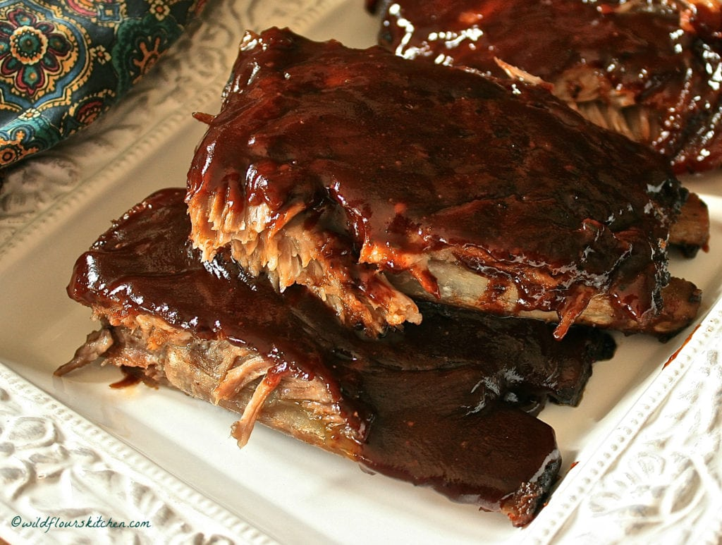 cabernet dark choc bbback ribs