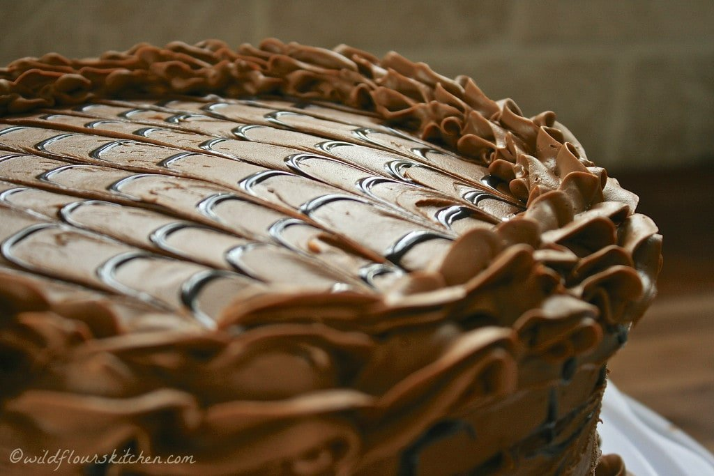 trip choc espresso cake