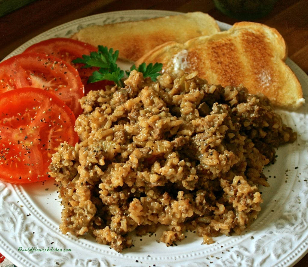 %22That Good Hamburger Rice Stuff!%22