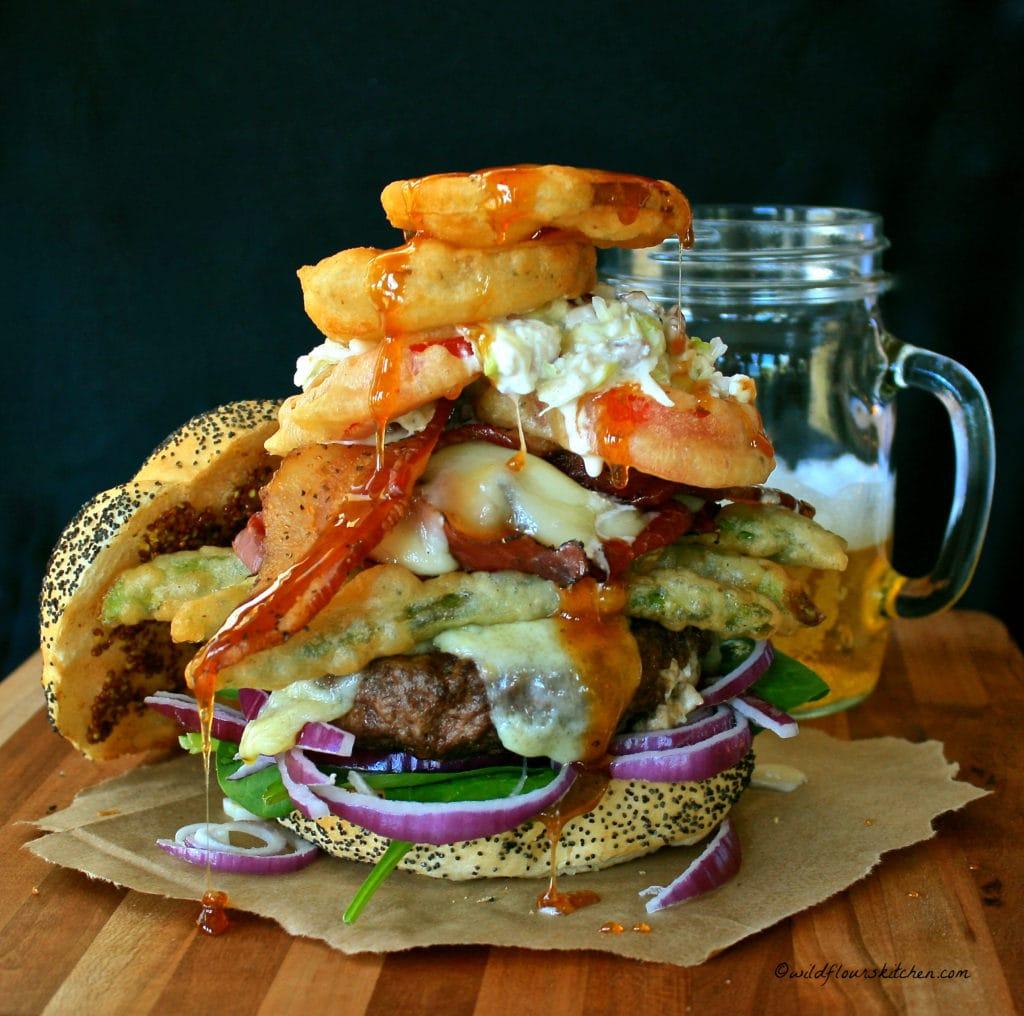 Farmer's Market Burger