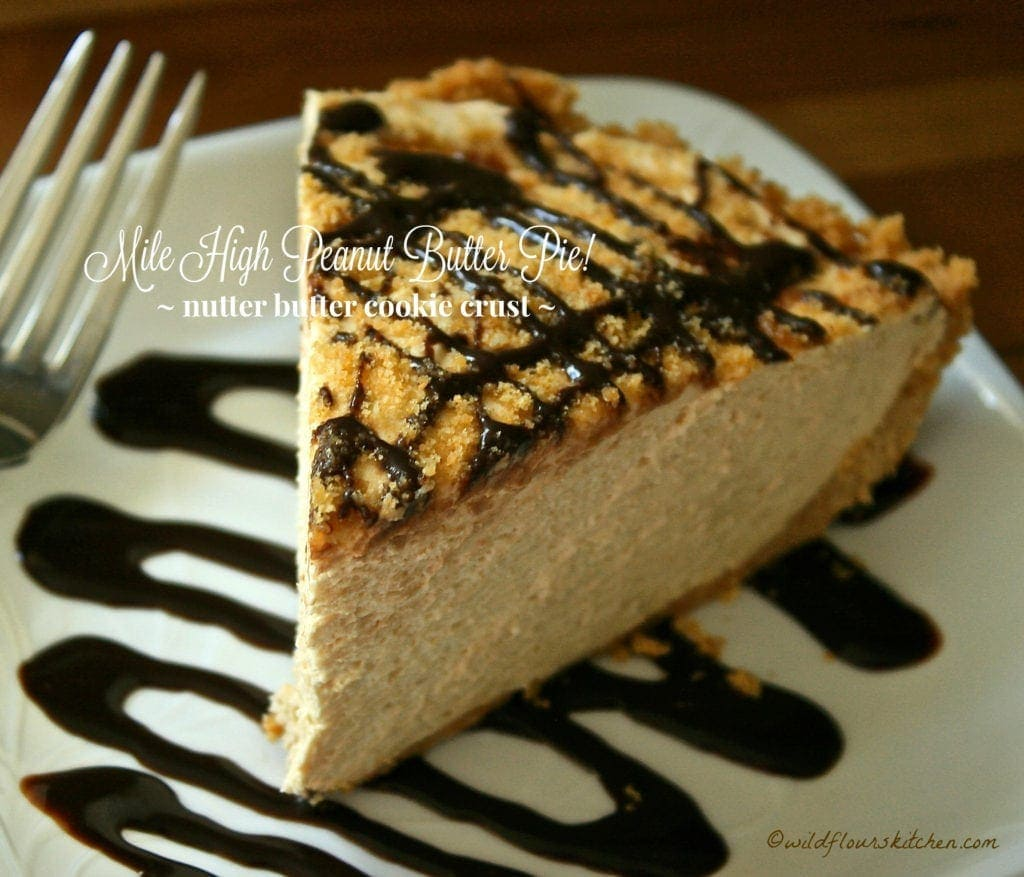 Mile High Peanut Butter Pie!!