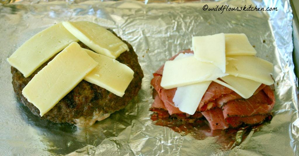 burger month burger and pastrami