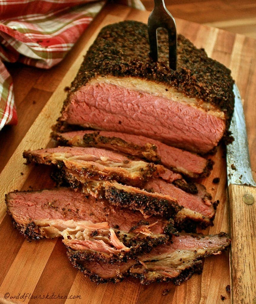 pastrami sliced