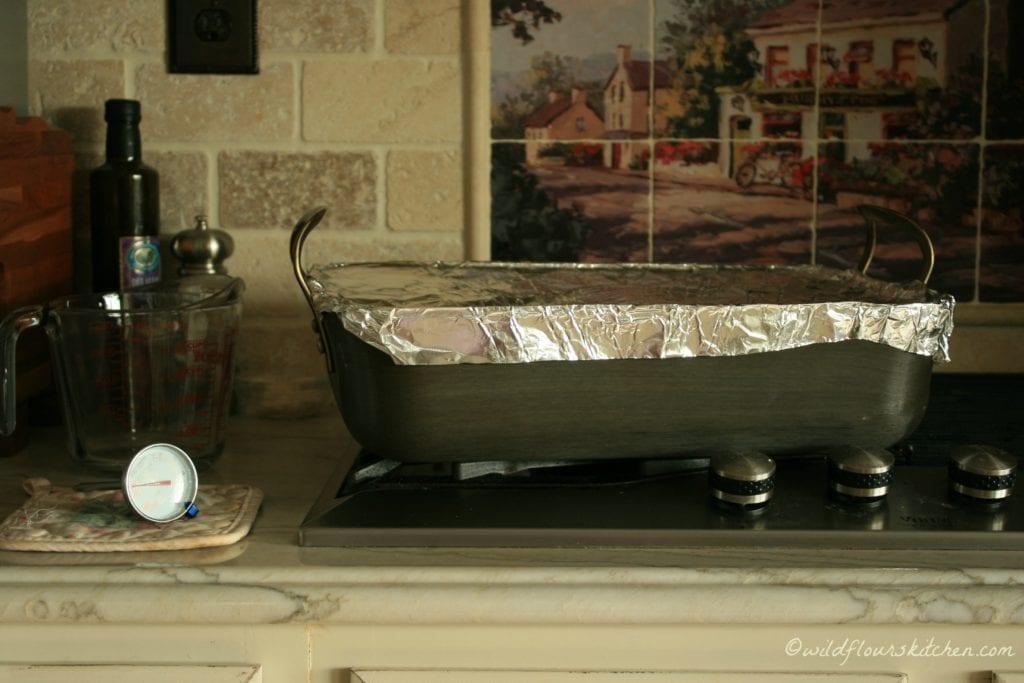 pastrami steaming