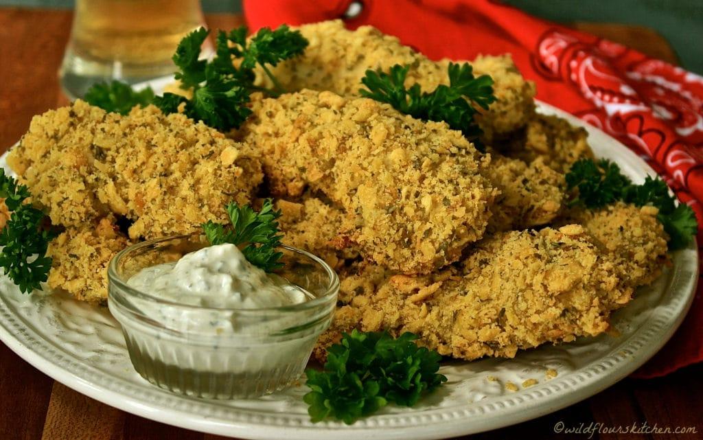 white cheddar ranch chicken