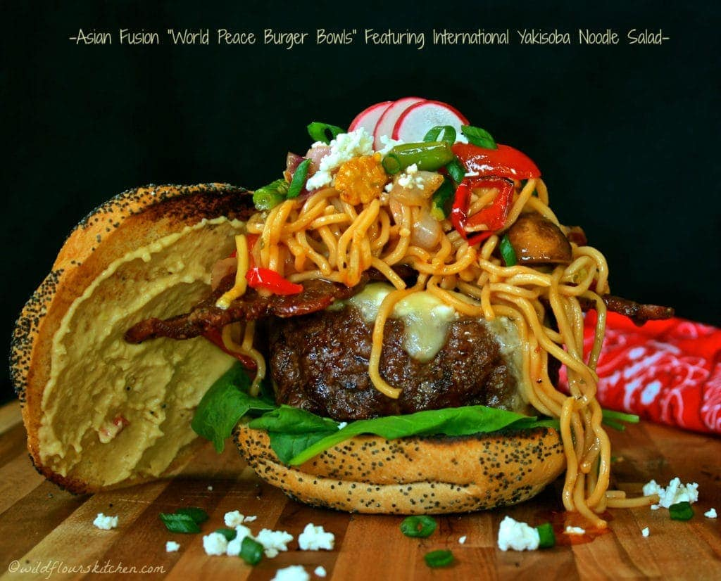 Asian Fusian World Peace Burgers!