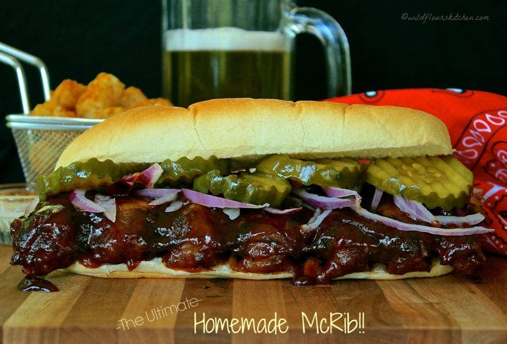 The Ultimate Homemade McRib!