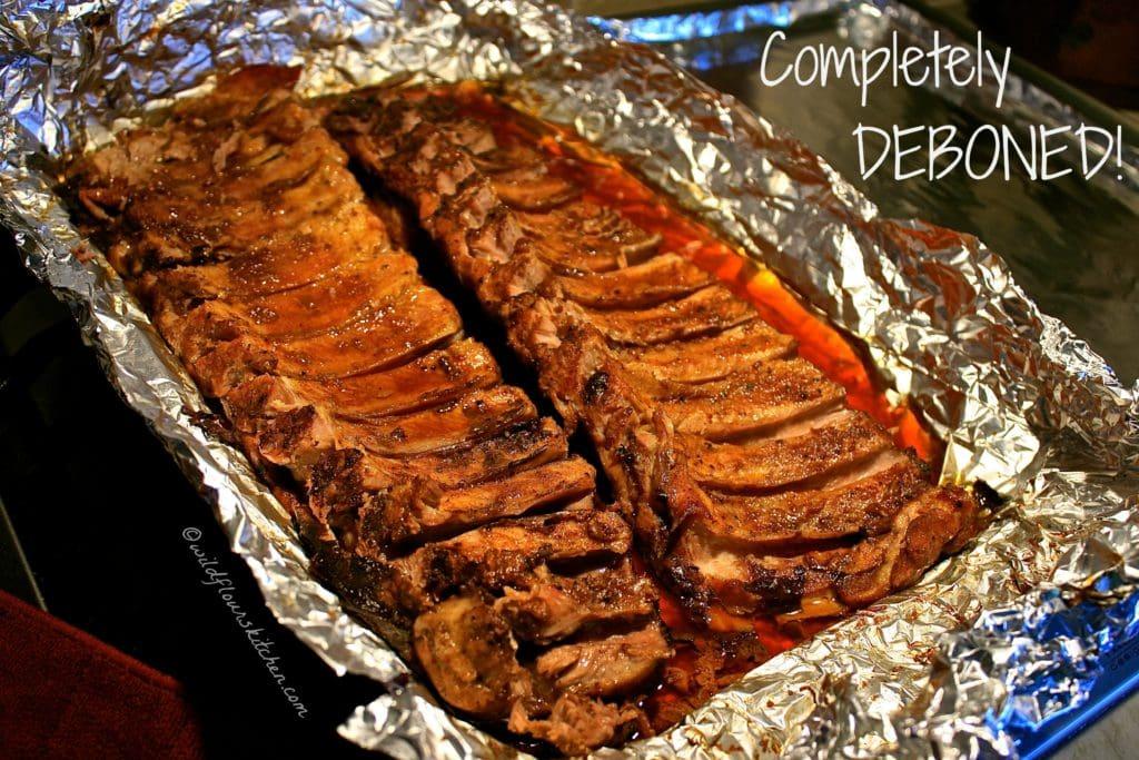 deboned ribs
