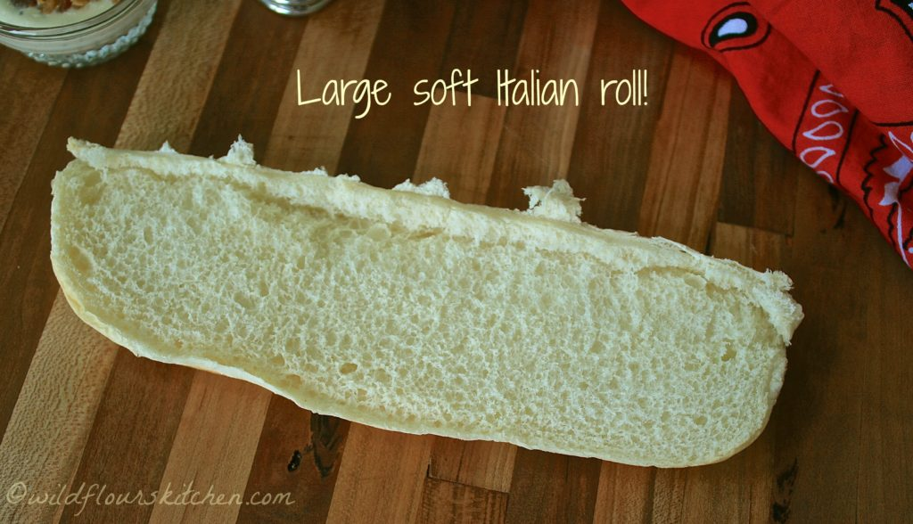 soft italian roll base