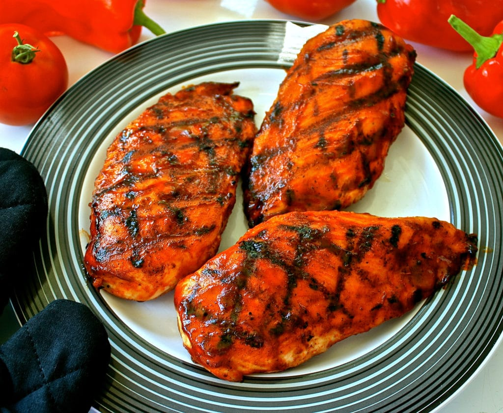 buffalo chicken grilled