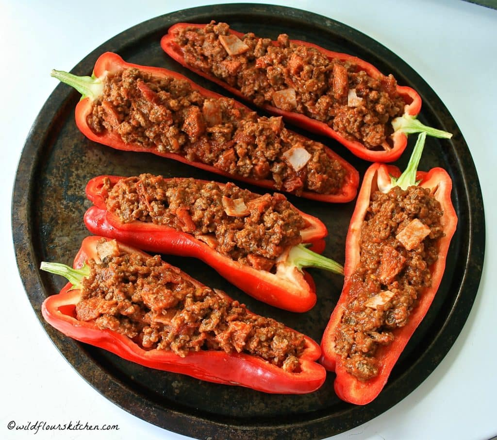 pizza peppers prebake