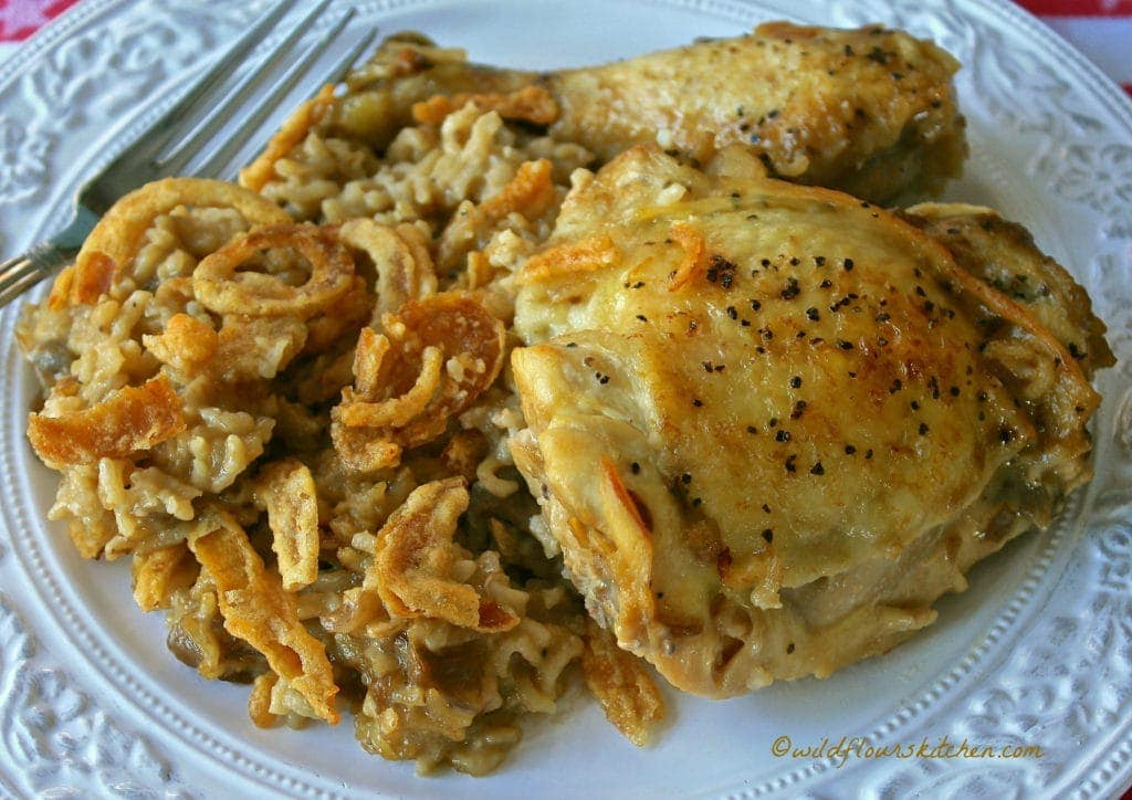 cream-of-mushroom-and-french-onion-chicken-rice-casserole