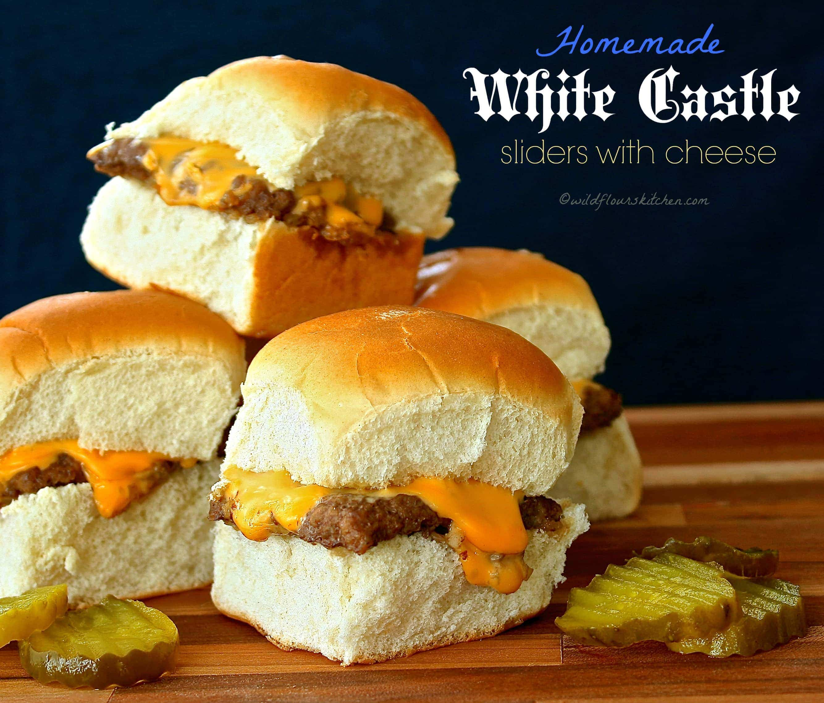 88e0da4861f17d Homemade White Castle Sliders (That Actually Taste Like White Castle ...