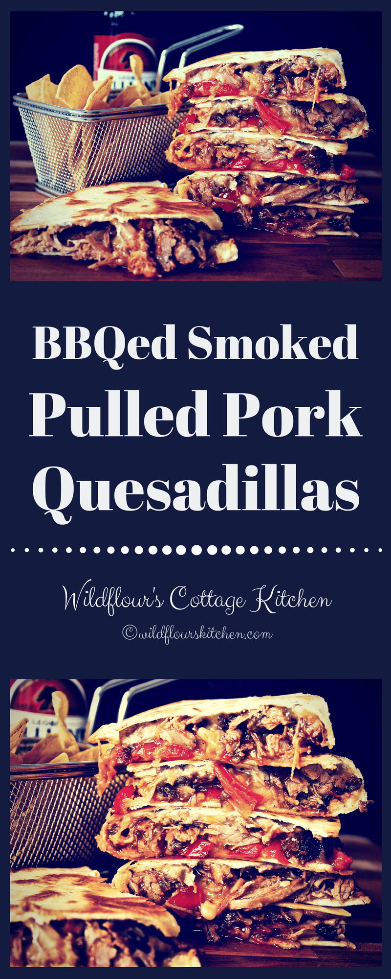 Barbecued Smoked Pulled Pork Quesadillas Wildflour S