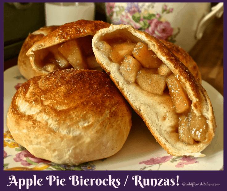 Apple Pie Bierocks / Runzas