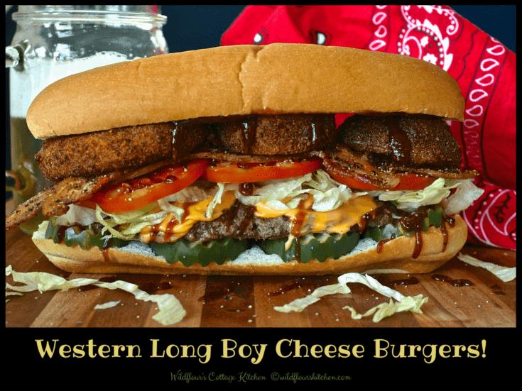 Western Long Boy Burgers