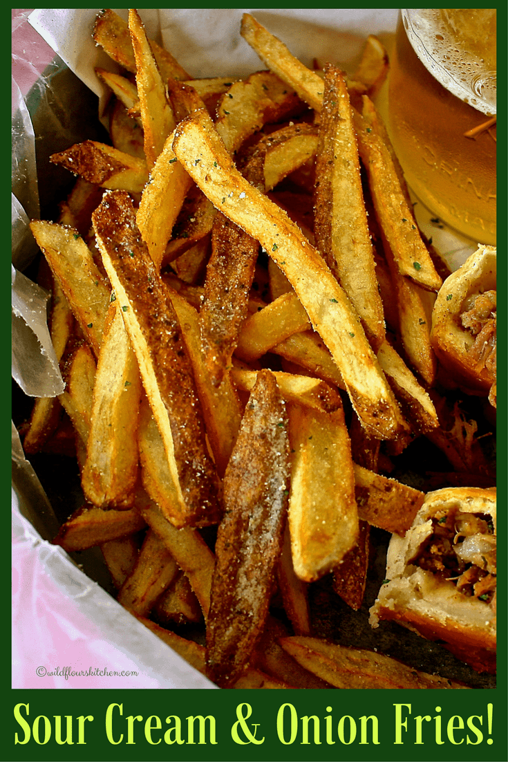 Sour Cream & Onion French Fries! (Just like the Chips!)