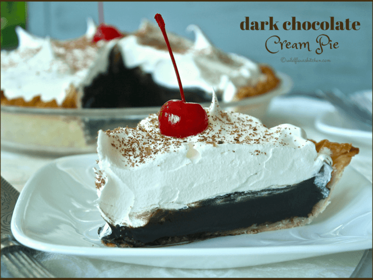 Old Fashioned Chocolate Cream Pie