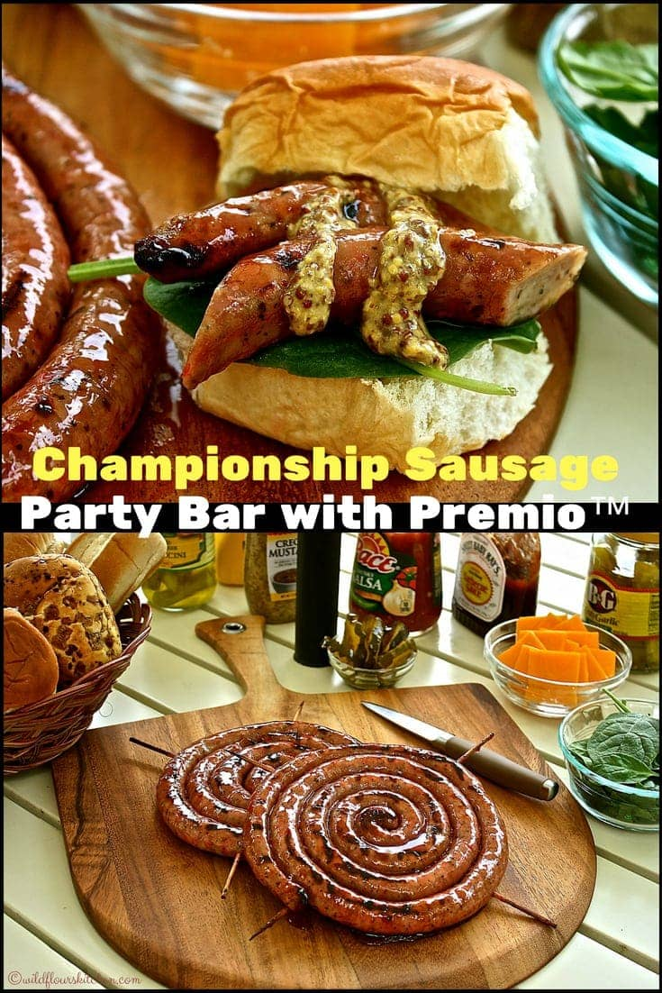 Grilled Championship Glazed Sausage Party Bar