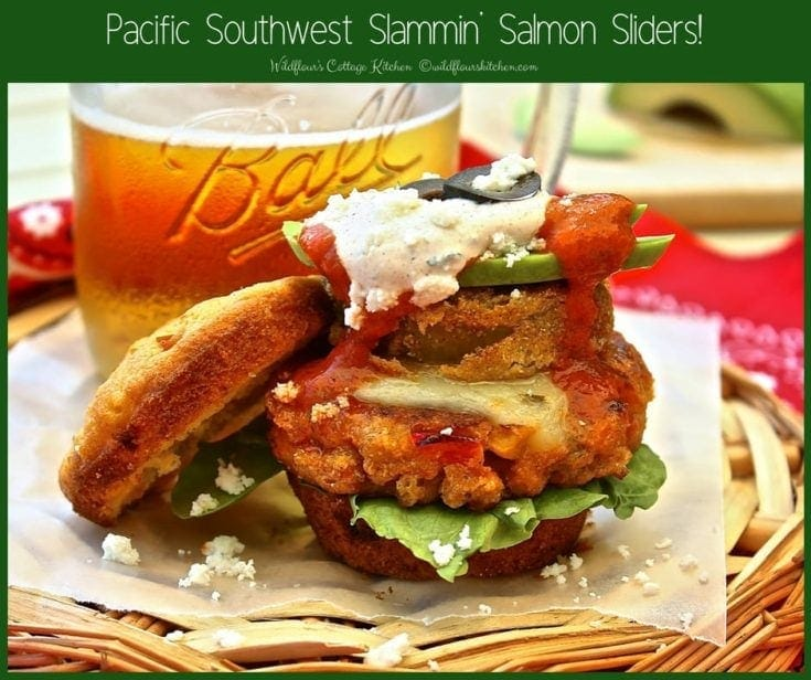 Pacific Southwest Slammin' Salmon Sliders