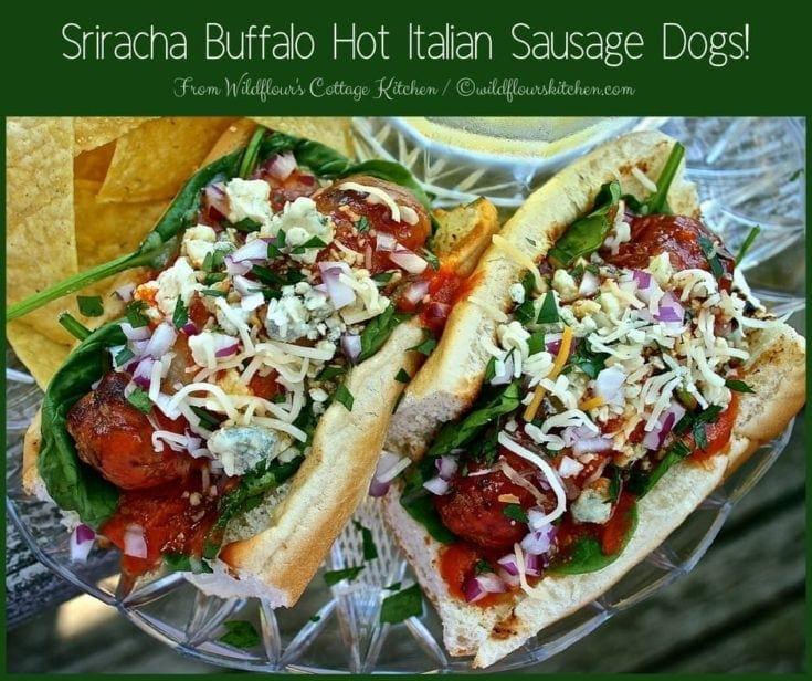 Sriracha Garlic & Herb Buffalo Butter Sauce