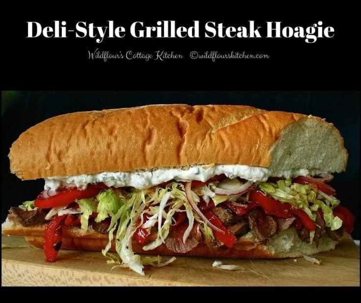 Deli-Style Grilled Steak Hoagie