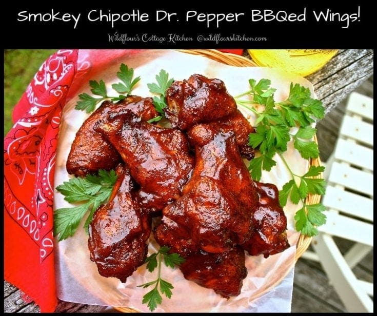 Smokey Chipotle Dr. Pepper Barbecued Wings