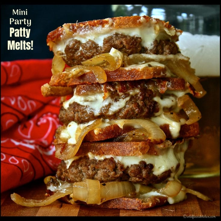 Mini Party Patty Melts