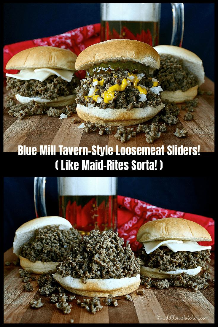 Blue Mill Tavern-Style Loosemeat Sliders (Like Maid-Rites Sorta)