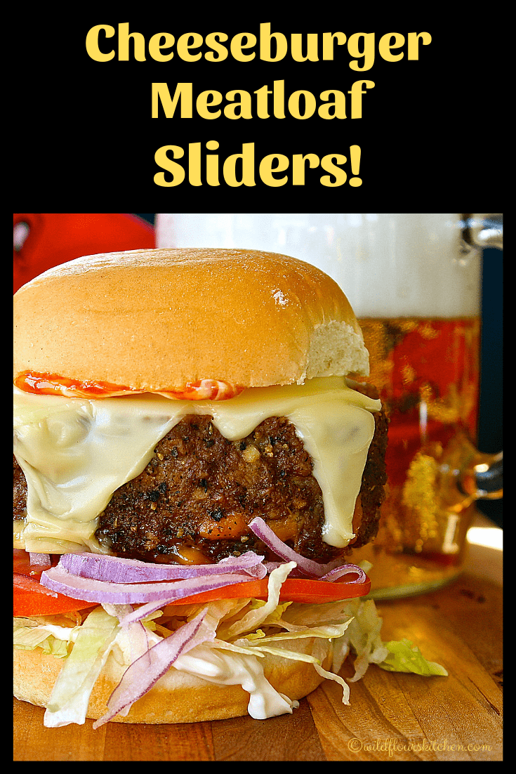 Cheeseburger Meatloaf Sliders