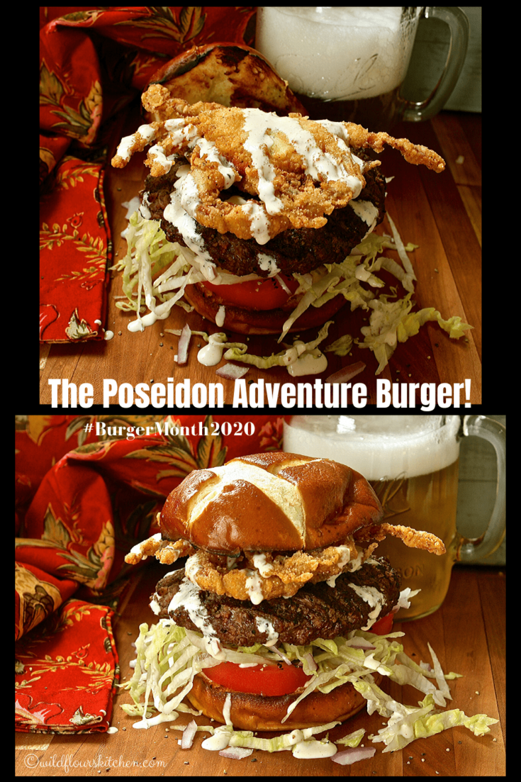 The Poseidon Adventure Burger / #BurgerMonth2020